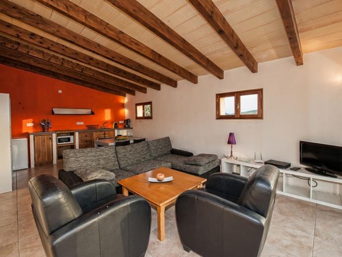 Livingroom with Kichen in exterior Studio