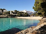 Beach Cala d´Or at only 100m